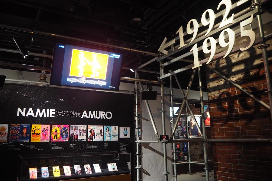 25年の歴史が詰まった「アムロストレージ(倉庫)」では、懐かしい映像も多数