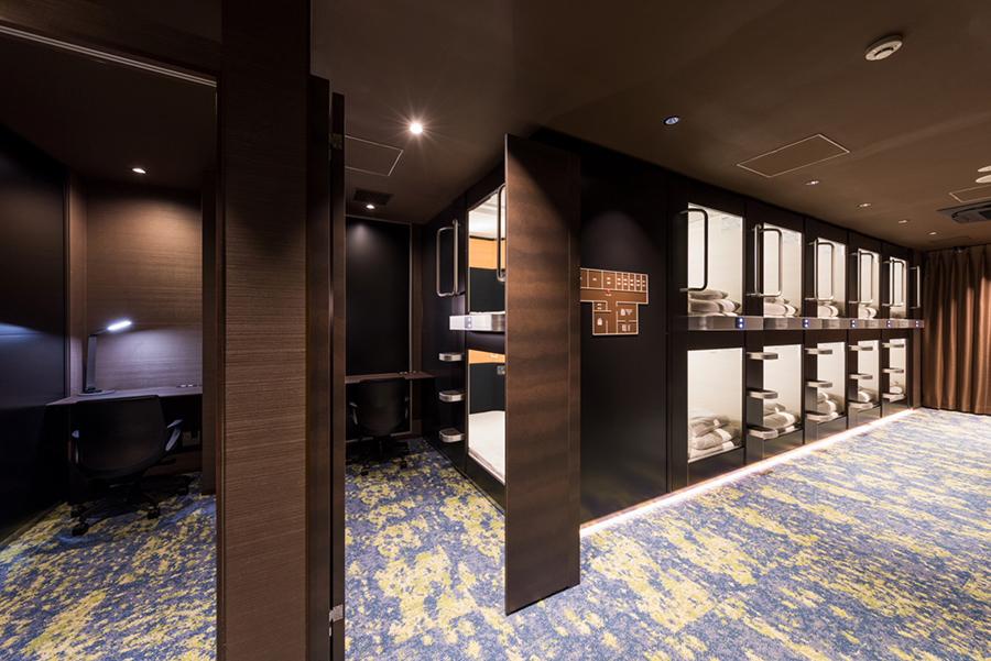 寝具会社・東京西川と共同開発したベッドマットレスを使用。部屋タイプもあり