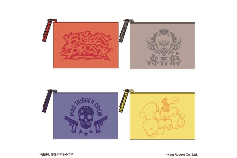 クリアポーチ(全4種・各1620円)※7月21日より発売