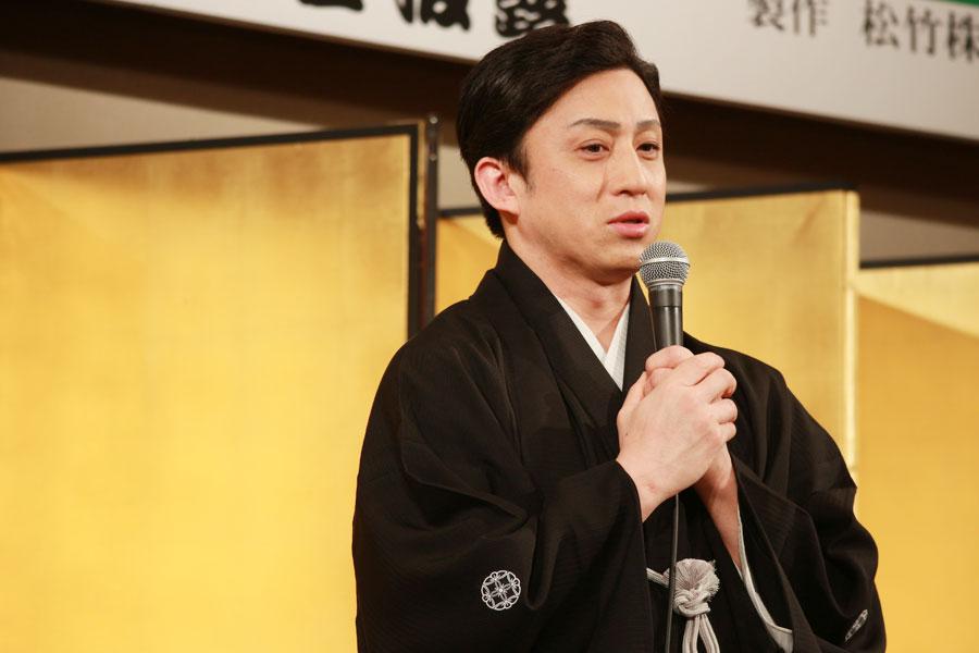 南座での千穐楽で弁慶役が100回を迎えるという幸四郎。「回数ではありませんが、大きな区切りになりますので、精一杯勤めたい」