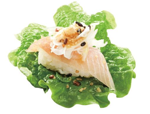 「無添くら寿司」の「スーパーフード寿司」キヌアサラダ巻き ビントロ108円