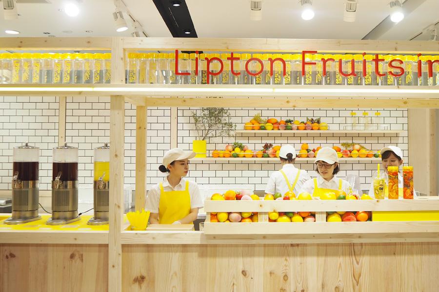 「ディアモール大阪」に期間限定で登場する『Fruits in Tea To Go OSAKA』