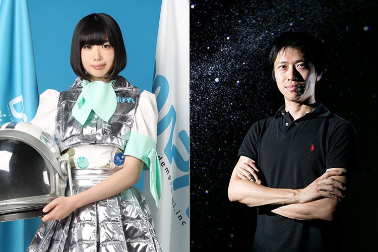 (左から)でんぱ組.incの夢眠ねむ、小野雅裕