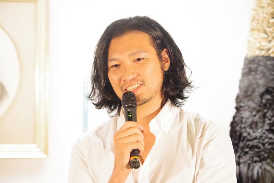 『西郷どん』展の開会式に島津久光を演じる俳優・青木崇高が登場