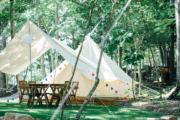 好みのキャンプ・スタイルを! 関西のグランピング