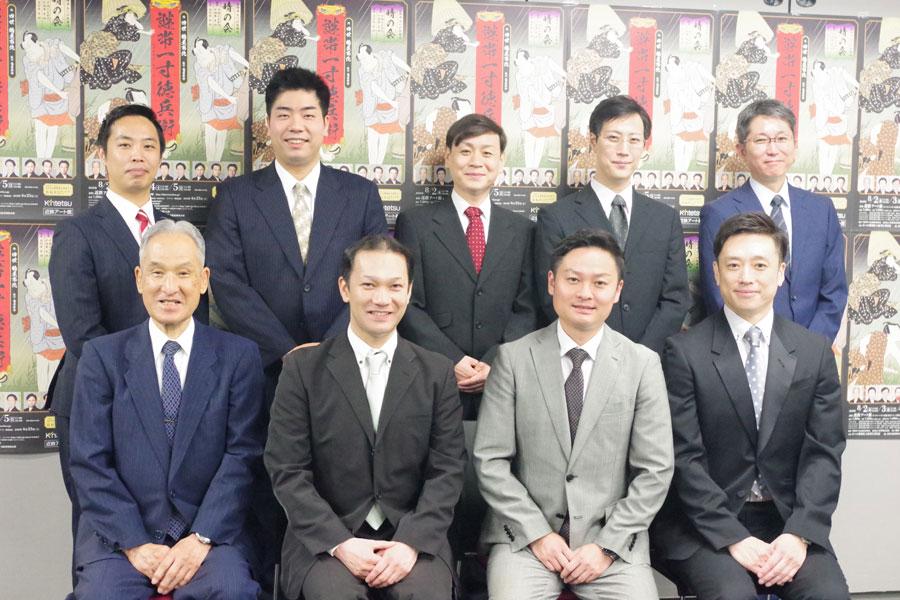『第4回 あべの歌舞伎 晴の会(そらのかい)』の出演者ら全9名