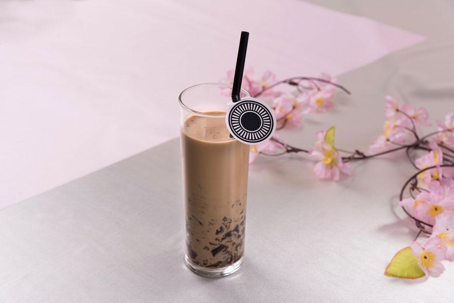 大倶利伽羅のコーヒーゼリーラテ(961円)