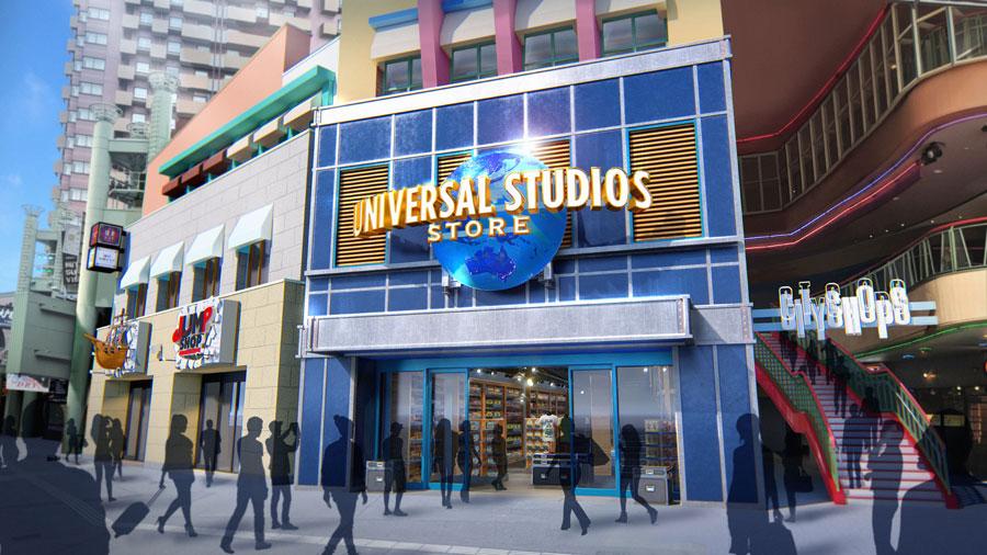 デザイン総監修者が「映画製作の歴史からインスパイアされた」と話す店舗の外観