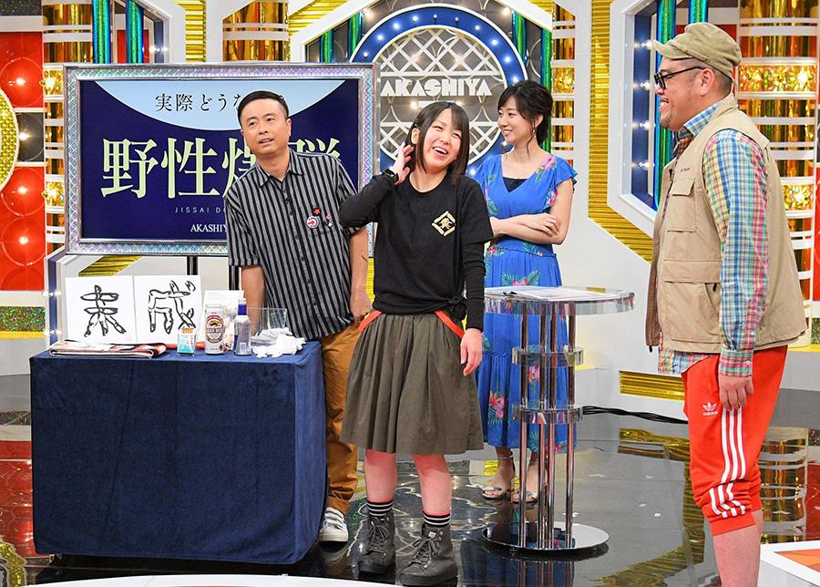 福島県から参戦した「くっきーの大ファン」という女性は、熱い思いをくっきーにぶつける