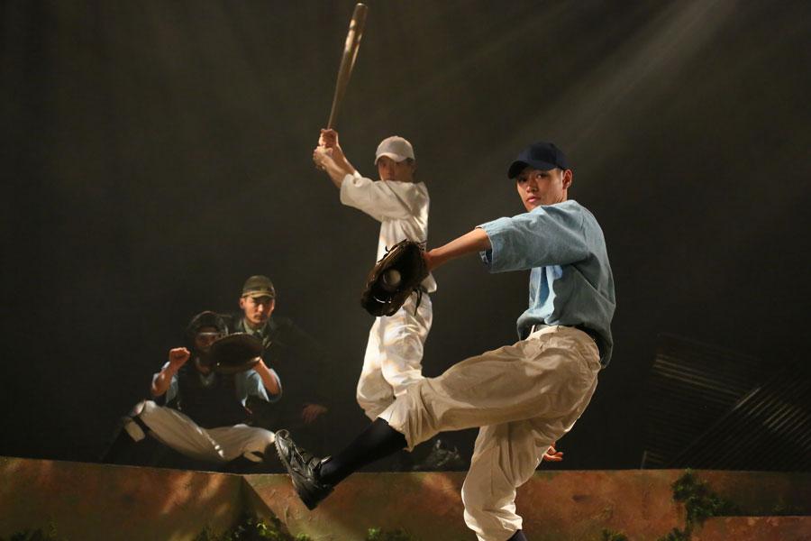 出演者らには、桑田氏がピッチングから野球スピリットまで伝授したという