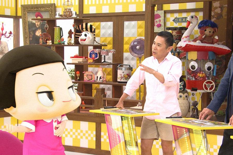 チコちゃんの鋭いツッコミに、岡村もゲストも毎回たじたじになる
