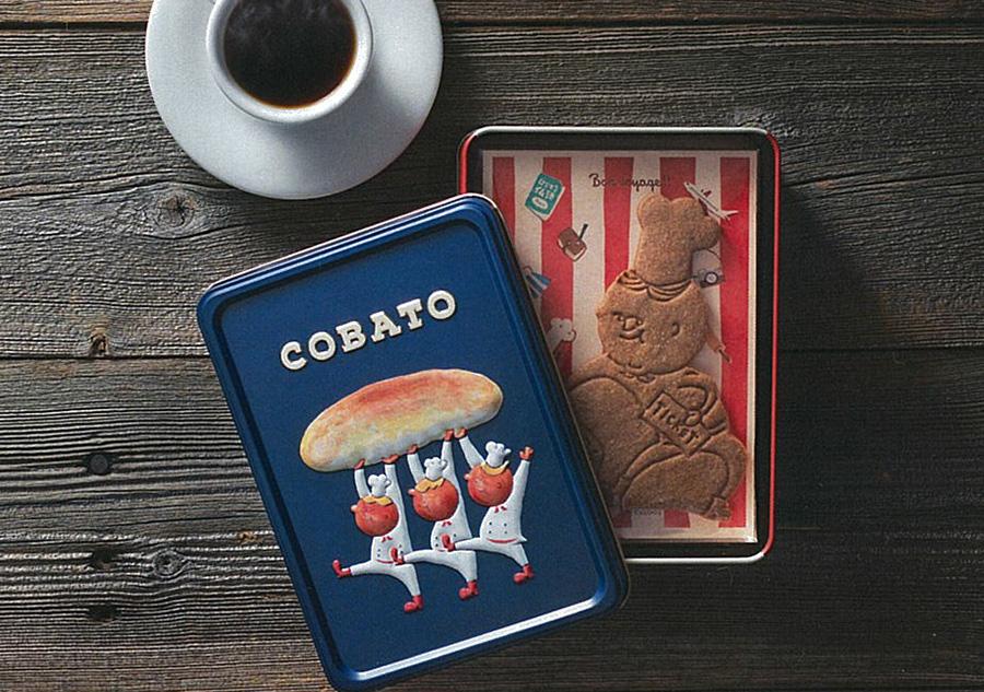 缶もキャラクターの表情もかわいい、COBATO スペキュロス缶1500円