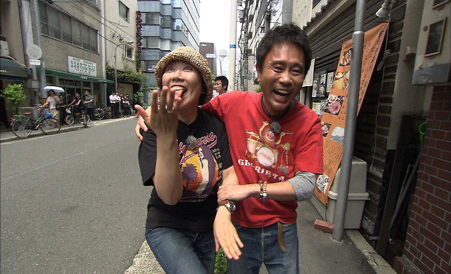 浜田、相方の顔を見るなり「出たー!」
