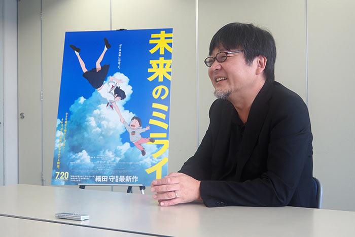 映画ファンから次作への渇望が尽きない細田守監督