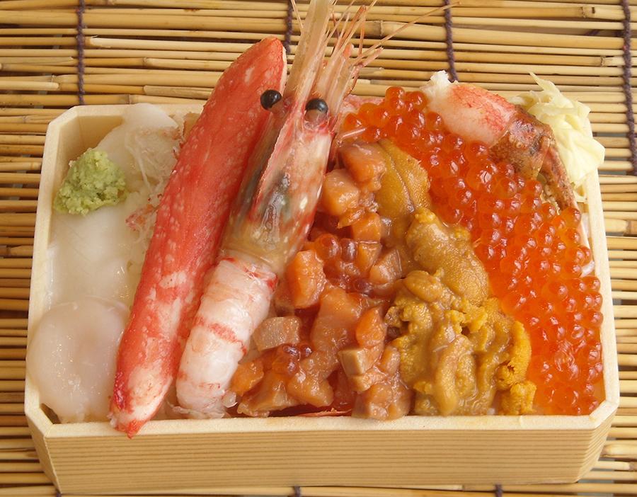 「今井商店」北の漁場弁当2000円(写真はイメージ)