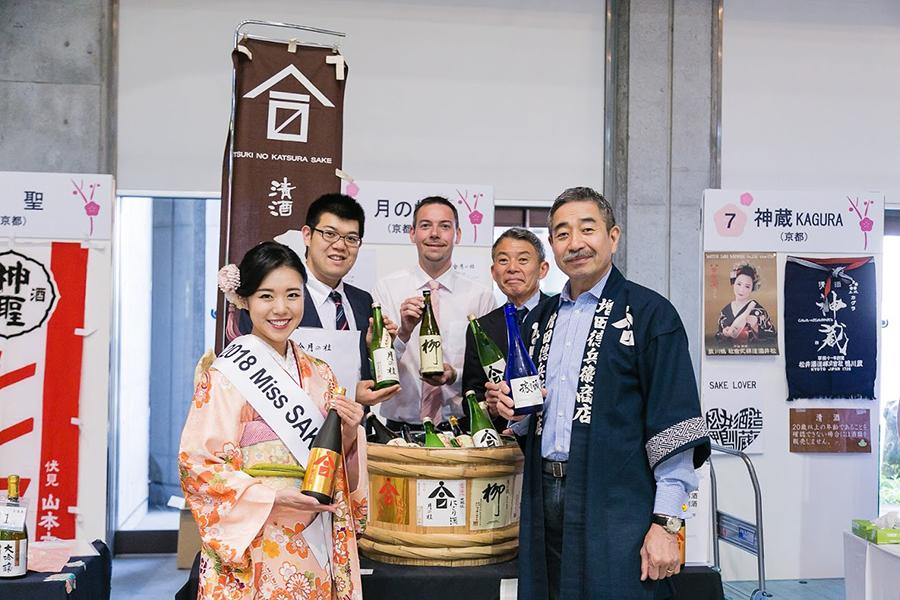 京都を中心に、47都道府県のお酒が登場。プレミア酒や果実酒も出品される予定