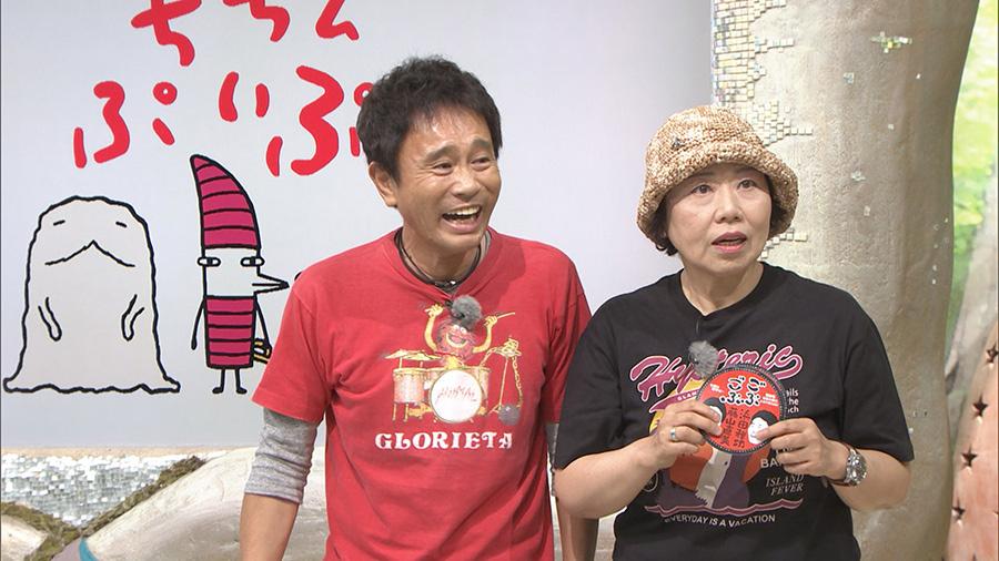 生放送の『ちちんぷいぷい』に乱入する大御所2人 写真提供/MBS