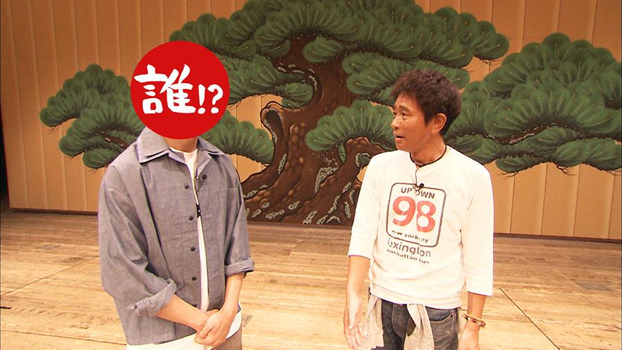 大阪の国立文楽劇場では、回転舞台やセリに、浜田が大興奮