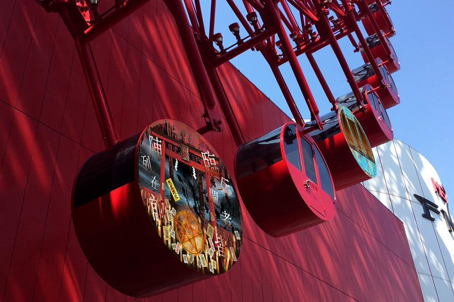「HEP FIVE」に登場する期間限定のホラー観覧車「怪談車」(写真はイメージ)