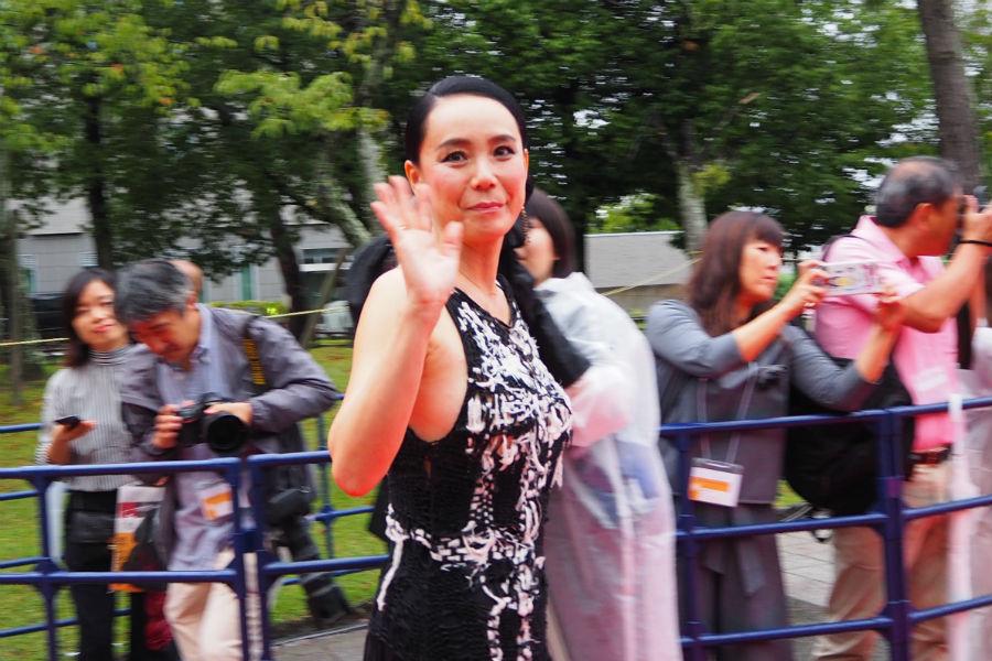 『なら国際映画祭』のエグゼクティブディレクターをつとめる河瀬直美監督(20日・奈良市内)