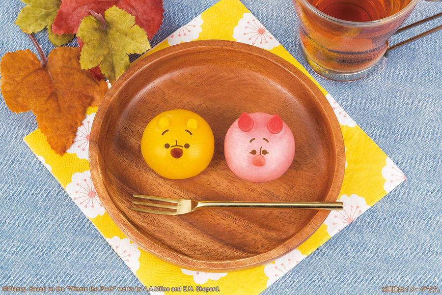 食べマスモッチ くまのプーさん イメージ