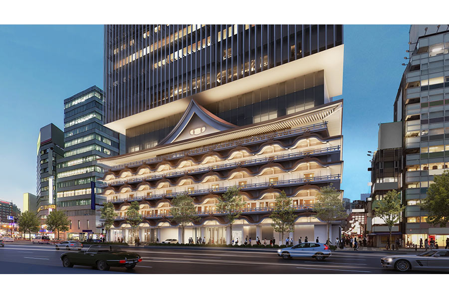「新歌舞伎座」跡地に2019年12月に開業する「ホテルロイヤルクラシック大阪」(イメージ)