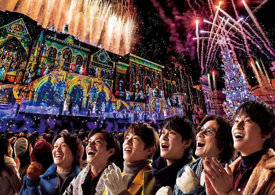 「ユニバーサル・スタジオ・ジャパン」のクリスマス・アンバサダーに就任した関ジャニ∞
