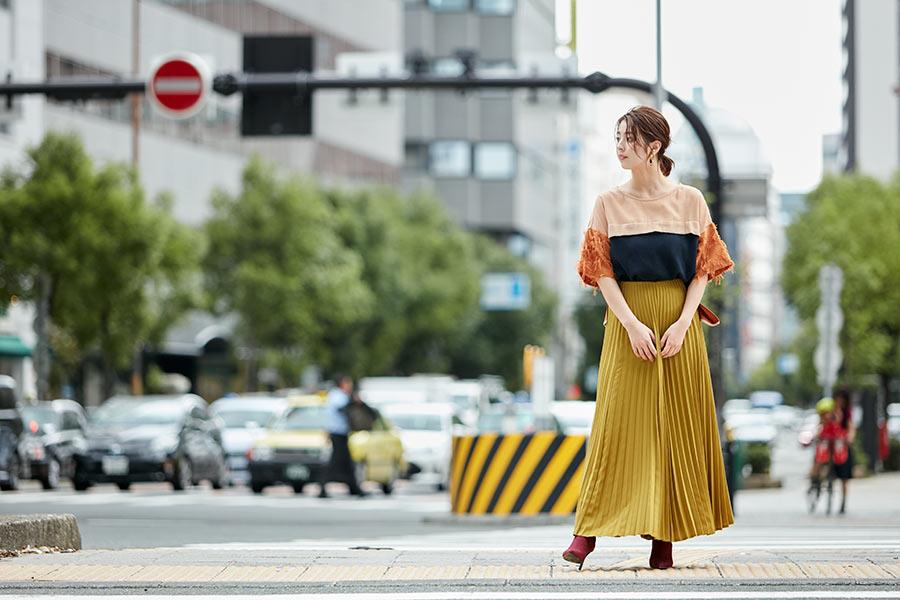 撮影は、柳ゆり菜の地元である大阪で敢行