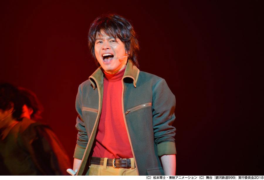 前作の舞台『銀河鉄道999 ~GALAXY OPERA~』より、鉄郎役の中川晃教 写真/源かつみ