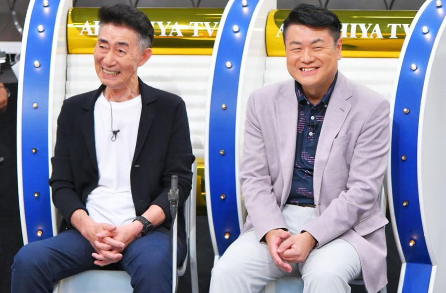 左から、よゐこ濱口の父・濱口克己さん、菅田将暉の父・菅生新さん 写真提供:MBS
