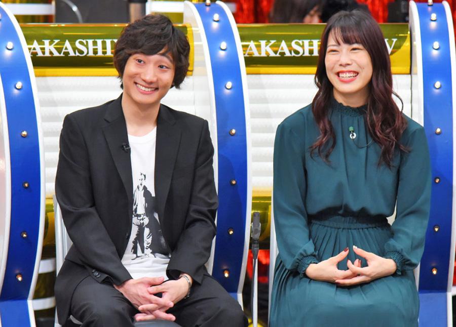 左から、オール阪神の息子・高田隆平さんと藪恵壹の娘・藪夏那子さんは2人とも大学生 写真提供:MBS