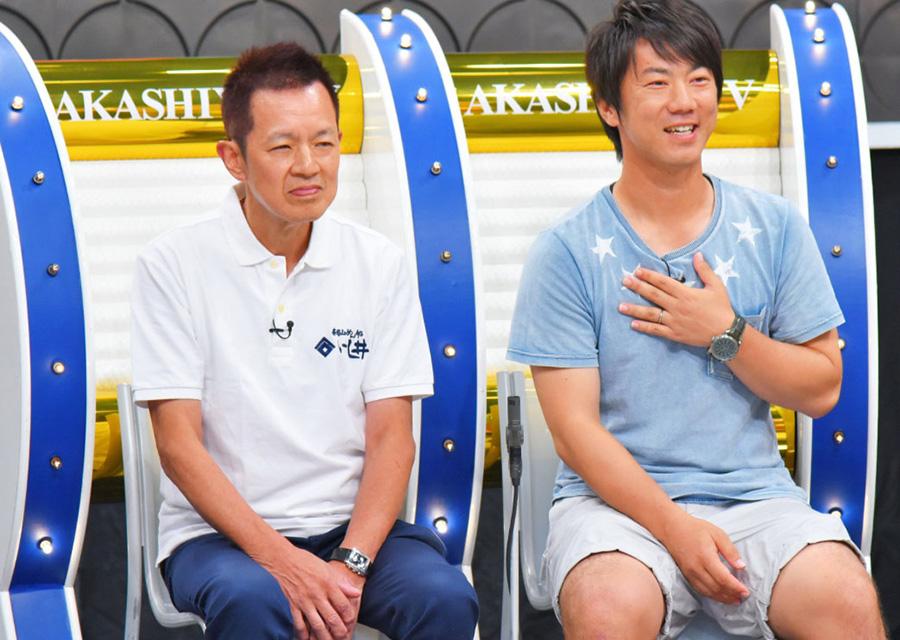 左から、ラサール石井の兄・石井巧さん、 岡崎慎司の兄・ 岡崎嵩弘さん 写真提供:MBS