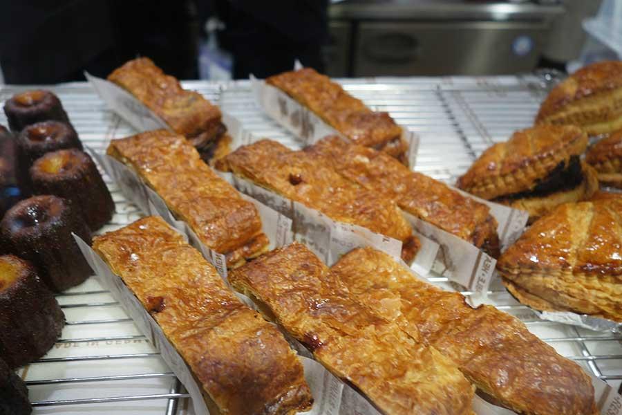 京都の名店「パティスリーS」ではモンブランといったケーキのほか、アップルパイ、マロンパイなども