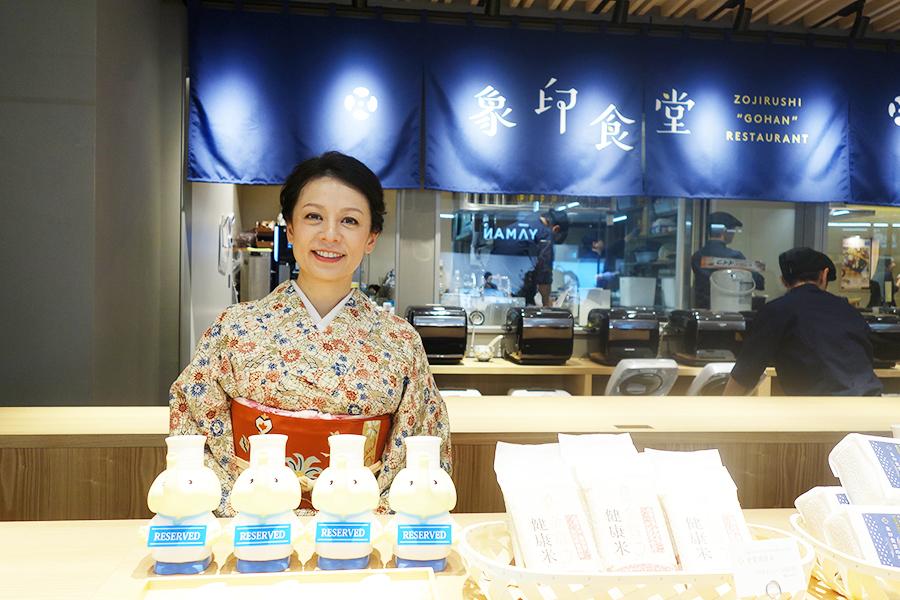 料理家の吉田麻子さん。今回は、大のご飯好きとあって、「象印マホービン」から指名されたという