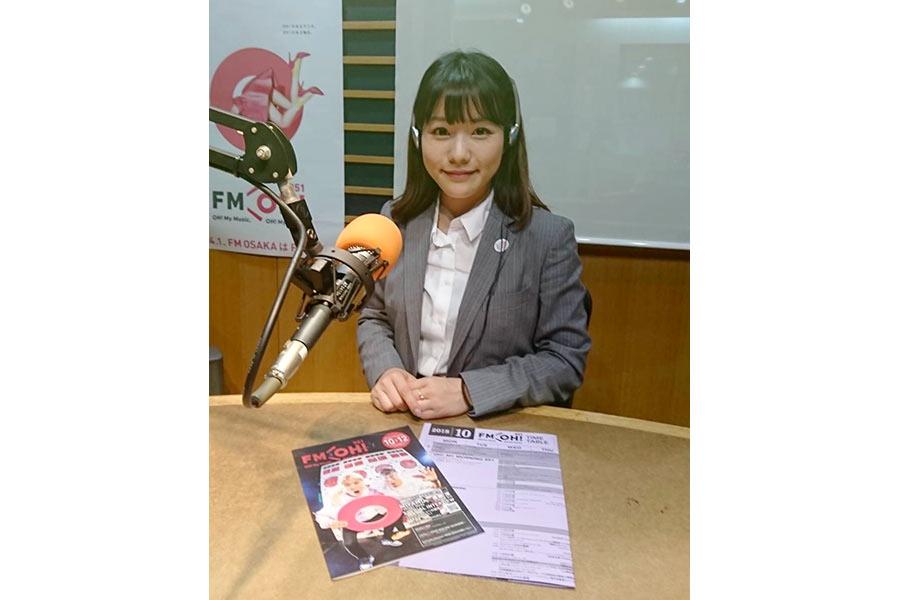 2015年までNMB48のメンバーだった、FM OH!社員の河野早紀さん