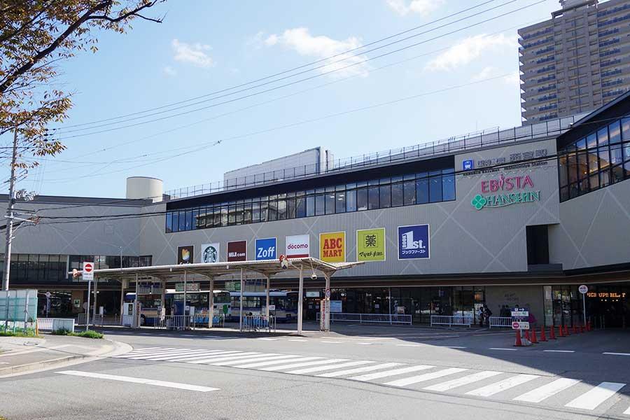 増床したエビスタ西宮は阪神西宮駅直結