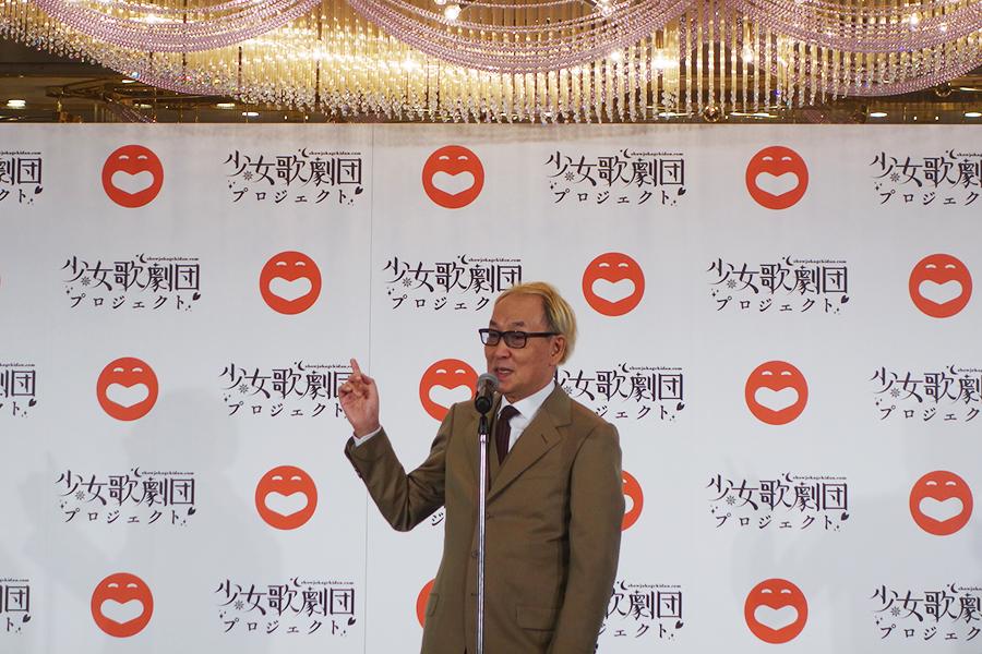 吉本興業の代表取締役・大崎洋さんから、京都から大阪へ向かう車中でオファーを受けたという広井さん