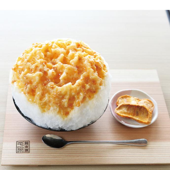 「ヨーグルトクリーム柿氷」(880円)