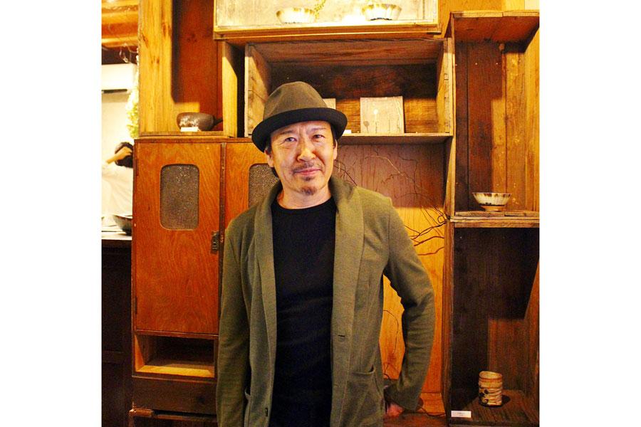 奈良・大和郡山市で毎年5月に開催される現代工芸フェア『ちんゆいそだてぐさ』の企画者でもある堀部伸也さん