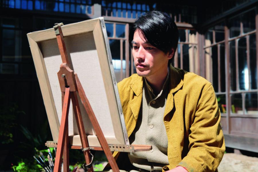 「忠彦にとって、絵を描くことはアイデンティティとして切り離せない。妻のおかげで好きなことだけをさせてもらっている」と要潤
