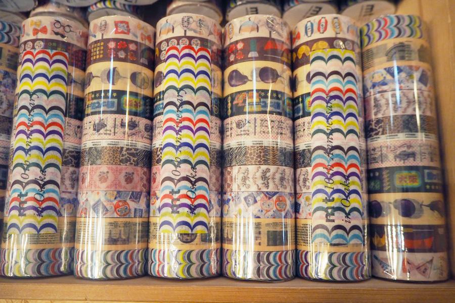「水ナス」「お笑い」「商売繁盛」など大阪をモチーフにした限定テープ(10巻セット2592円)