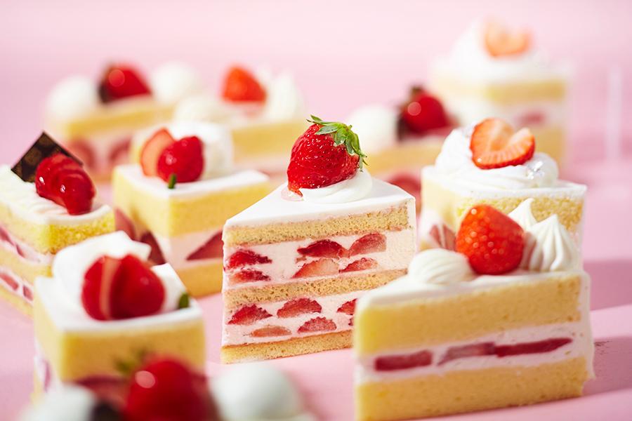 スポンジや生クリームなど、実はお店の個性がしっかり出るショートケーキ