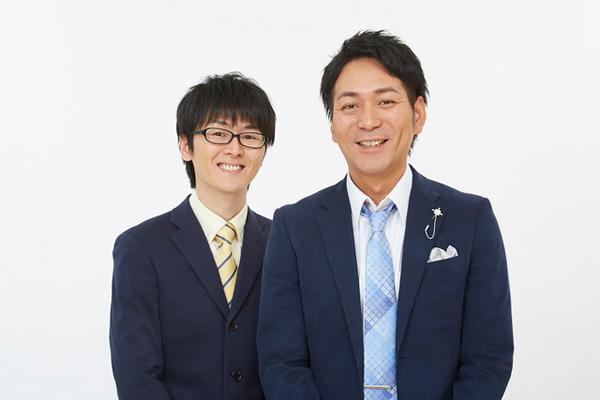 スーパーマラドーナ(左から田中、武智)