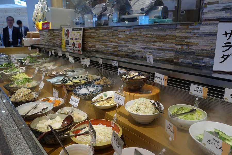兵庫初出店の「しゃぶしゃぶ美山」。豚 食べ放題コースがランチで1380円(+400円で寿司食べ放題)