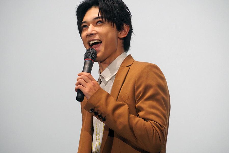 随所に関西弁を交えたコメントで客席を和ませた吉沢亮(8日・大阪市内)