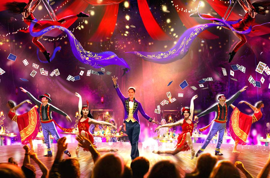 『ユニバーサル・パーティ~ザ・ショータイム~』のステージイメージ