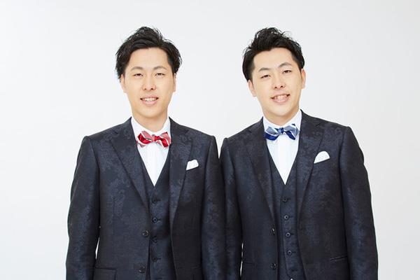 吉田たち(左からこうへい、ゆうへい)(c)YOSHIMOTO KOGYO CO.,LTD.