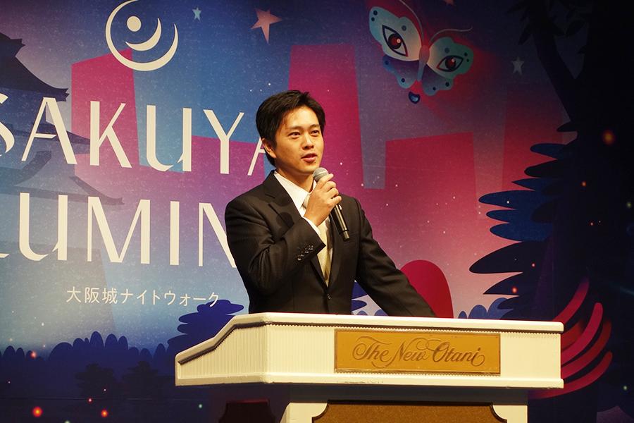 世界一の観光都市を目指したい、と吉村市長