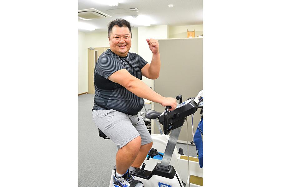 「大阪マラソン」に初挑戦の小杉、事前の体力測定では、意気込んでいたものの・・・