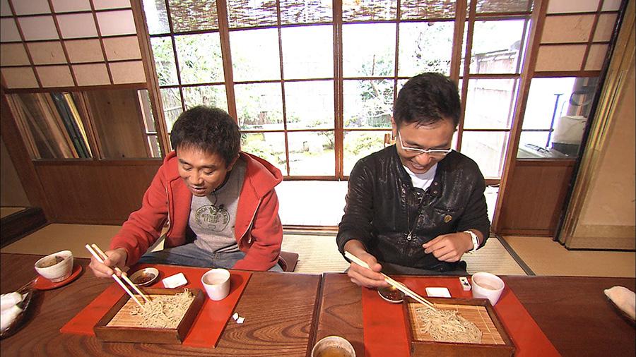ミシュラン一つ星の蕎麦店イチオシの「水蕎麦」に浜田は困惑!? 写真提供:MBS